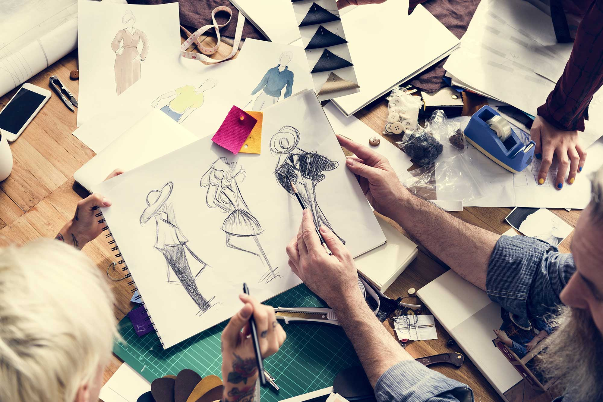Professional Fashion Designing Program